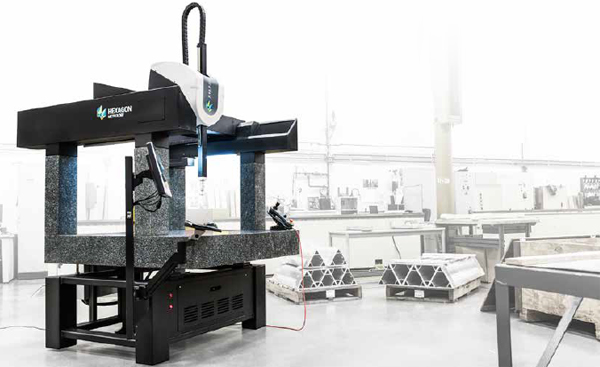 CMM - Coordinate Measuring Machine 7.10.7 SF Hexagon